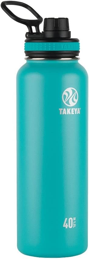 Takeya ThermoFlask Insulated Stainless Steel Water Bottle 40 oz