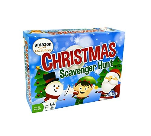 Christmas Scavenger Hunt Game (Amazon Exclusive) – Contains 220 Cards – Christmas Themed Party Game