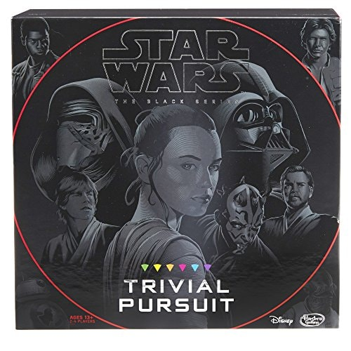 Hasbro Trivial Pursuit: Star Wars the Black Series Edition - Test Your Knowledge with Over 1,800 Eas