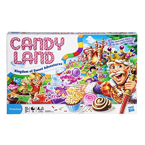 Candy Land Kingdom of Sweet Adventures Board Game for Kids Ages 3 and Up (Amazon Exclusive)