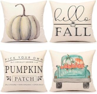 Fall Decor Pillow Cover Set