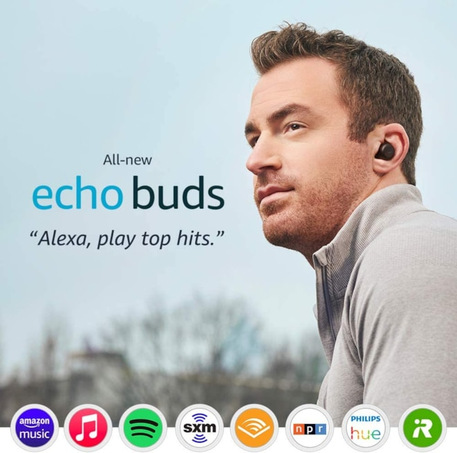 Echo Buds Alexa Wireless Earbuds