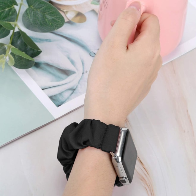 Scrunchie Watch Band Compatible Apple Watch