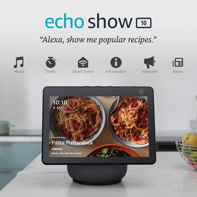 Echo Show 10 HD w Motion Smart Display