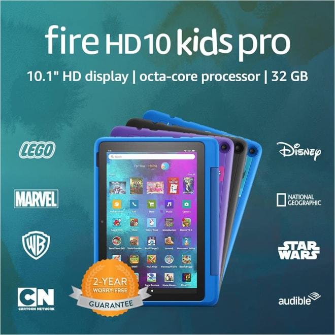 New! Fire HD 10 Kids Pro Tablet