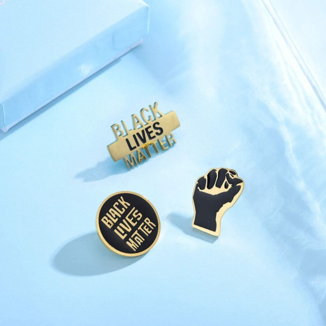 Black Lives Matter Pin Set