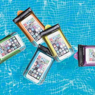 Floating Waterproof Smart Phone/Digital Camera Pouch
