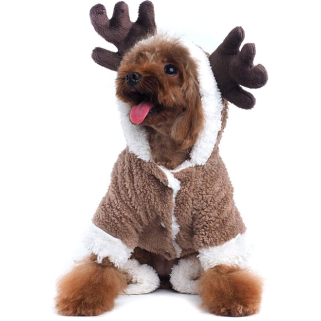 Pet Christmas Reindeer dog/cat Costume