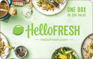 HelloFresh Gift Cards