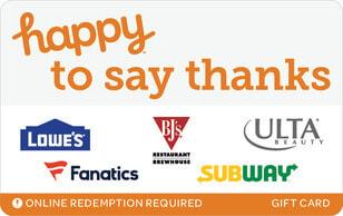 Swap Happy To Say Thanks
