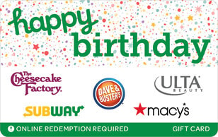 Swap Happy Birthday eGift Cards