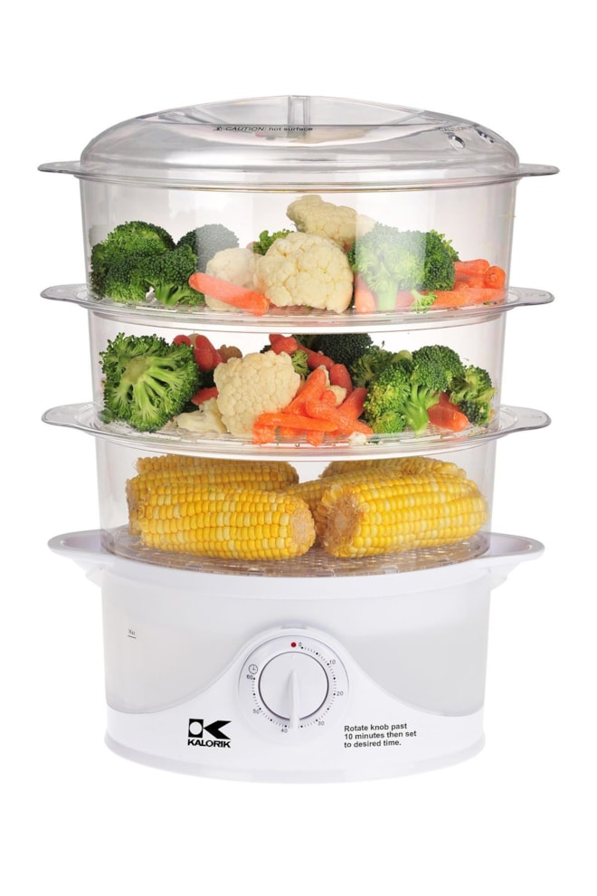 Tiered Food Steamer