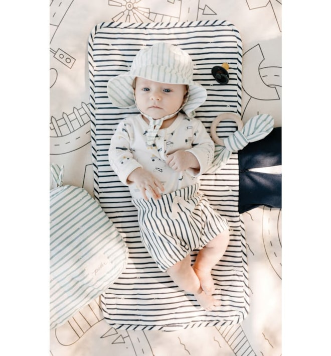 On the Go Organic Cotton Changing Pad
