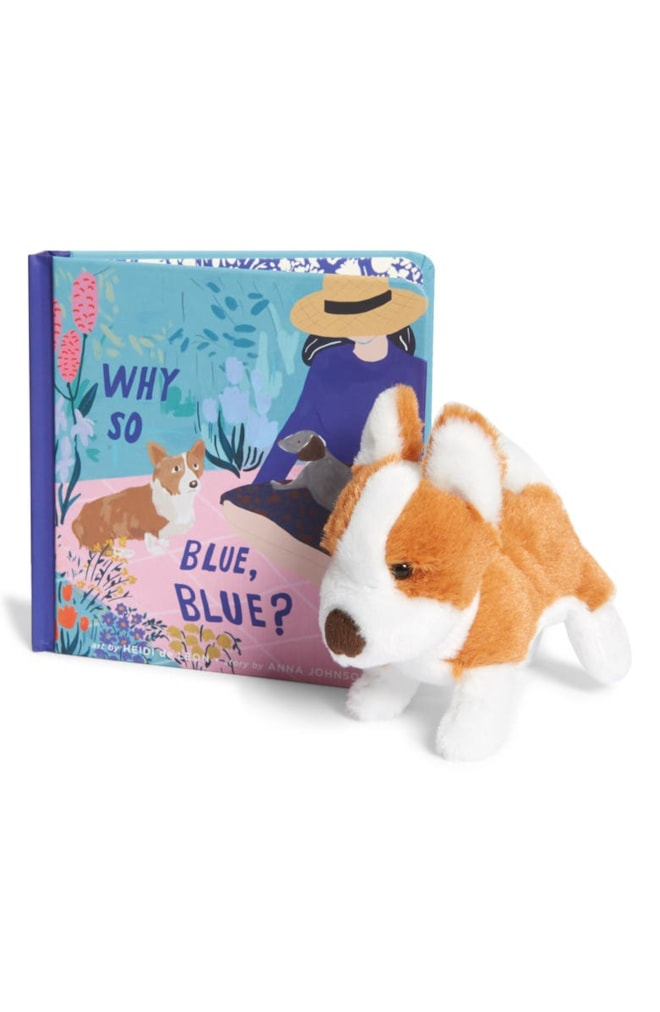 Manhattan Toy 'Why So Blue, Blue?' Board Book & Stuffed Animal Set | Nordstrom