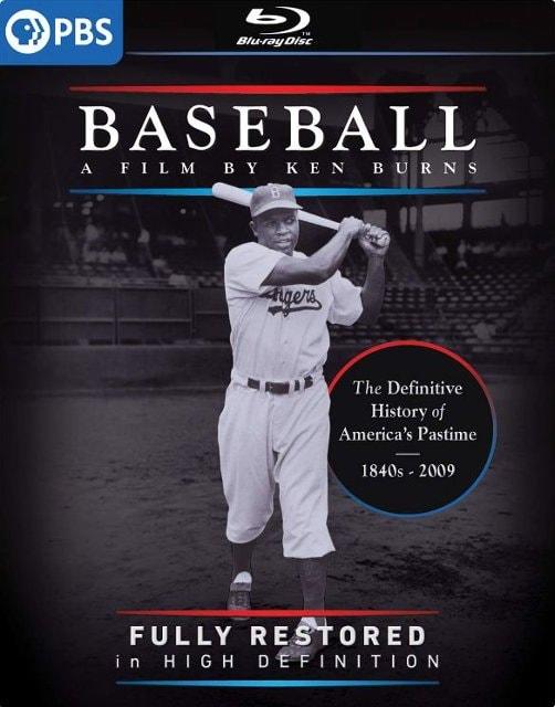 Blu-ray Set Baseball: A Film by Ken Burns