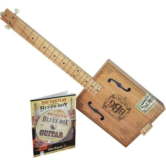Hinkler Electric Blues 3-String Cigar Box Electric Guitar