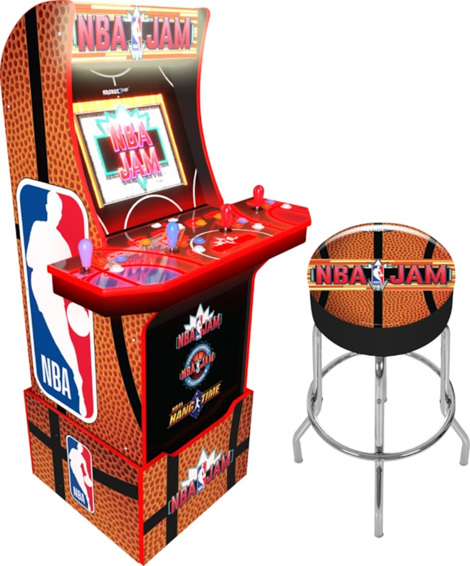 NBA Jam Arcade w/Stool Arcade1up