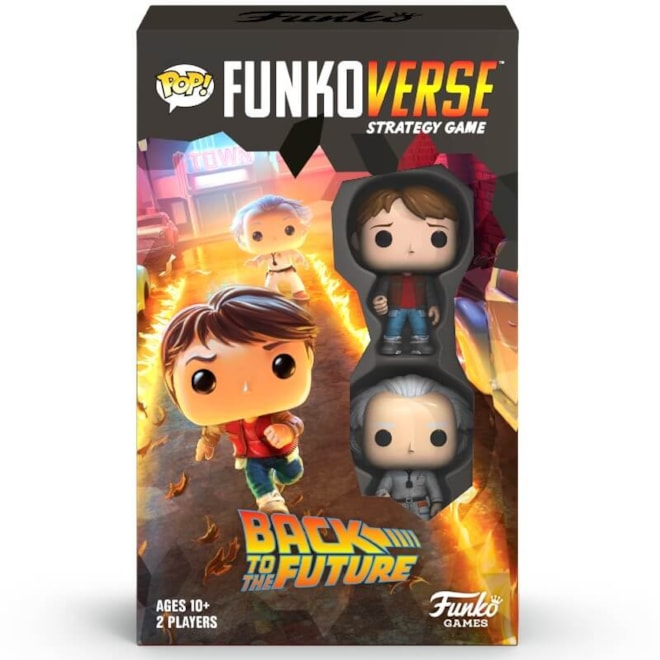Funkoverse Back to the Future Strategy Game Funko POP!