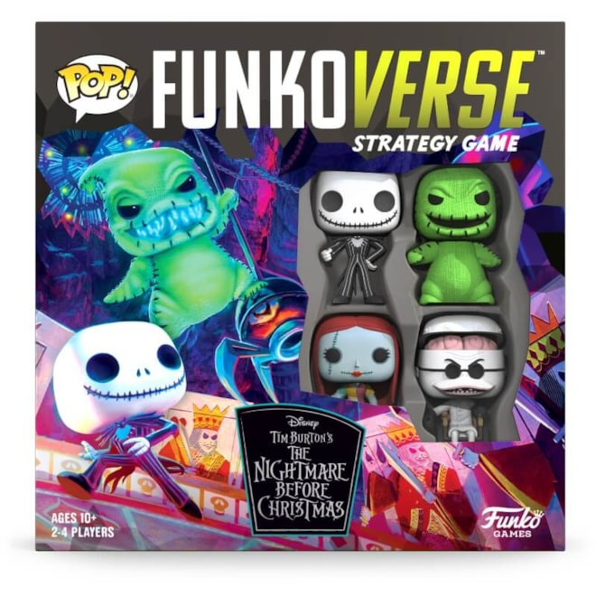 Funkoverse Nightmare Before Christmas Game By Funko POP!