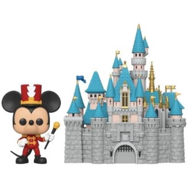 Disney 65th Castle with Mickey Funko Pop!