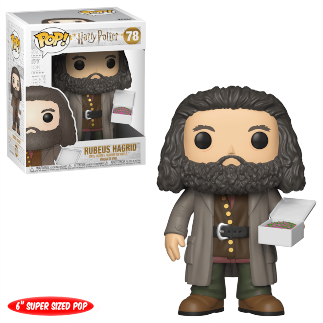 Hagrid with Cake 6-Inch Funko Pop! Vinyl