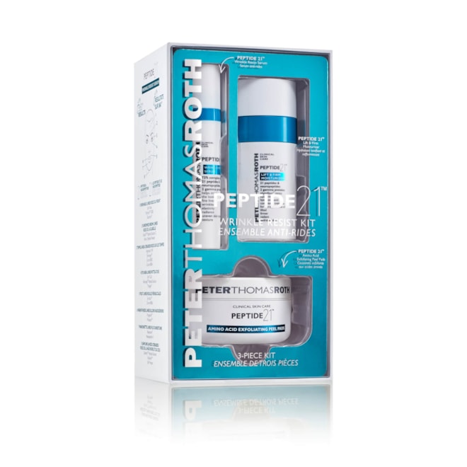 Peter Thomas Roth Peptide 21 Wrinkle Resist 3 Piece Kit (Worth $103.00)