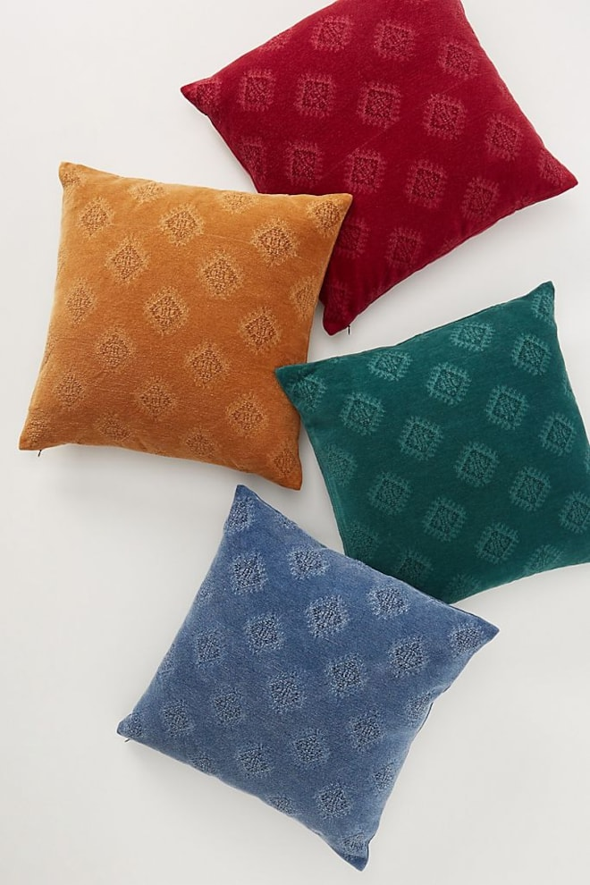 Jacquard Chenille Pillow