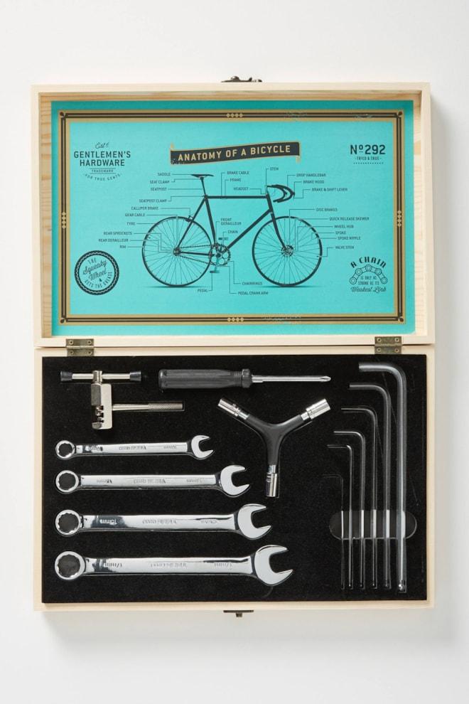 Gentlemen's Hardware Anatomy of a Bike Kit
