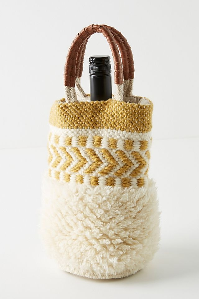 Sophia Wool Wine Caddy