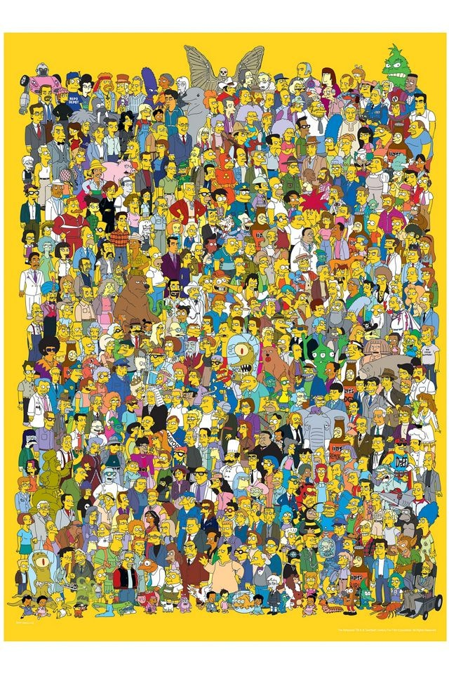 The Simpsons 1000 Piece Puzzle