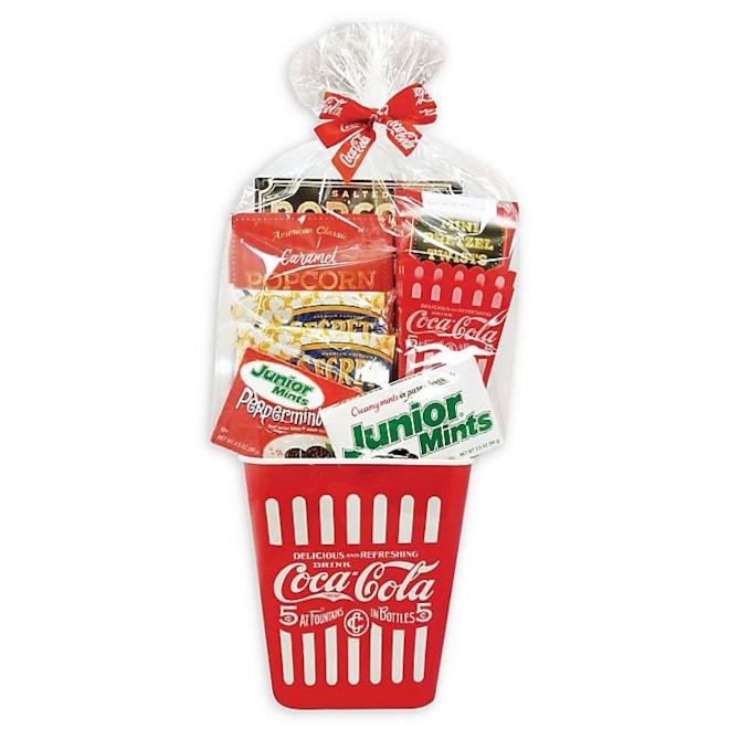 Coca-Cola Movie Night Gift Basket