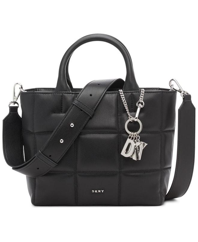 DKNY Wave Faux Leather Crossbody