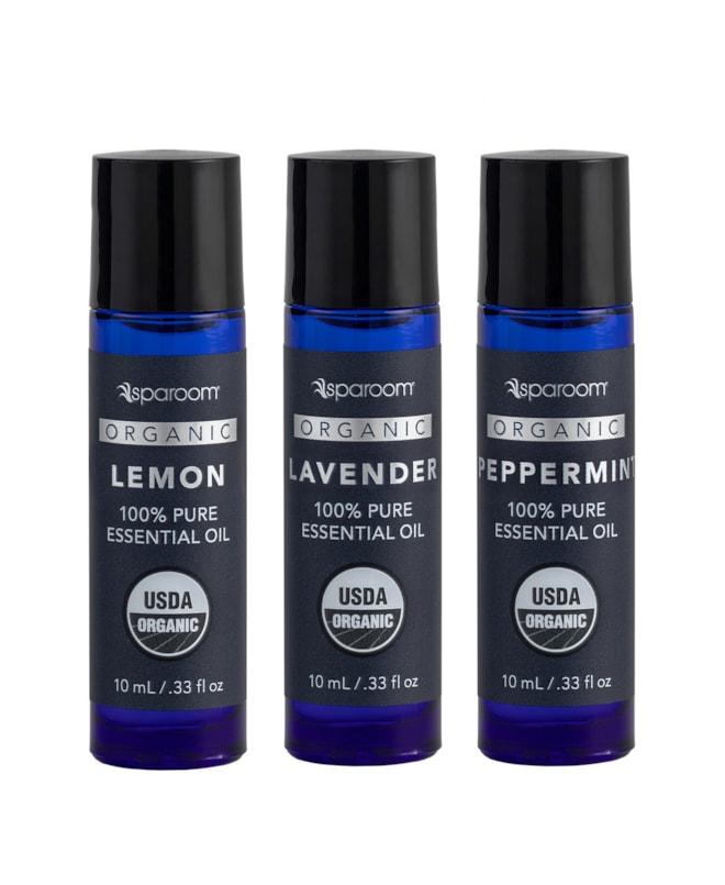 SpaRoom Organic Wellness Essential Oil 3 Pack